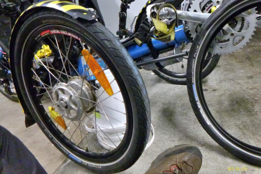 Tyre change needed