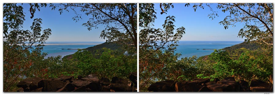 FJ0071.Vatia Lookout Point.Low + High tide