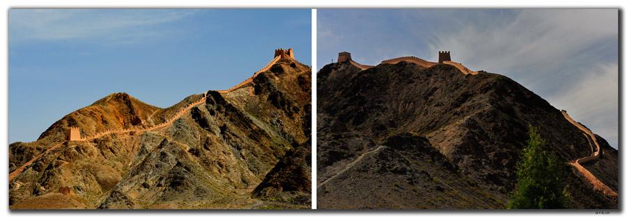 CN0132.Jiayuguan.Overhanging Great Wall