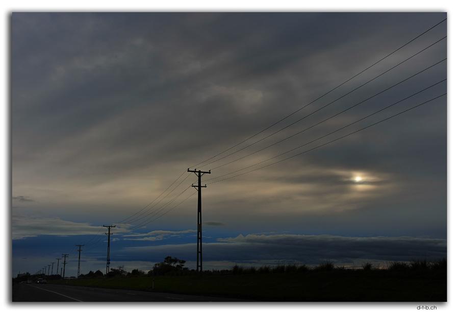 Invercargill.Morgenwolken