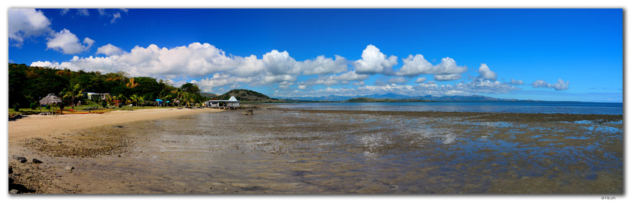 FJ0080.Vatia Beach at low tide