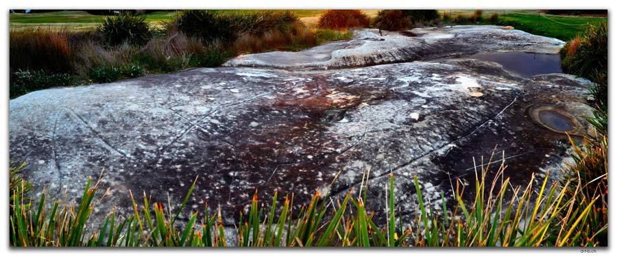 AU1625.Sydney.North Bondi.Aboriginal Rock Engaving