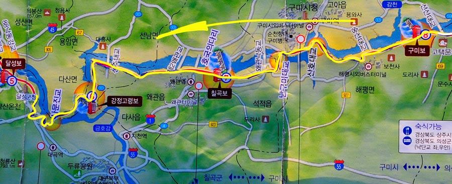Tag 277: Ilseon-ri - Daegu (Kroki)