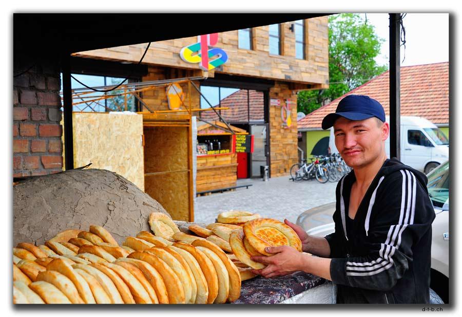 Frisches Brot vom Bäcker / Fresh bread