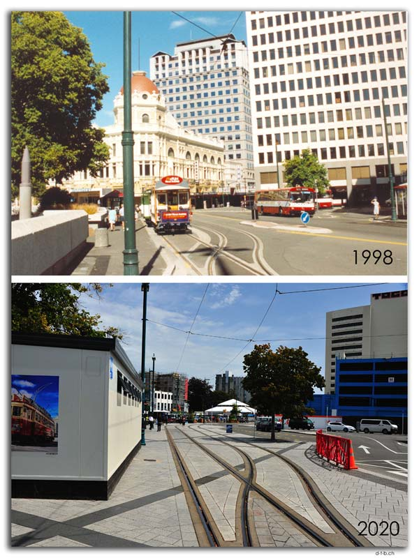 Cathedral square 1998+2020
