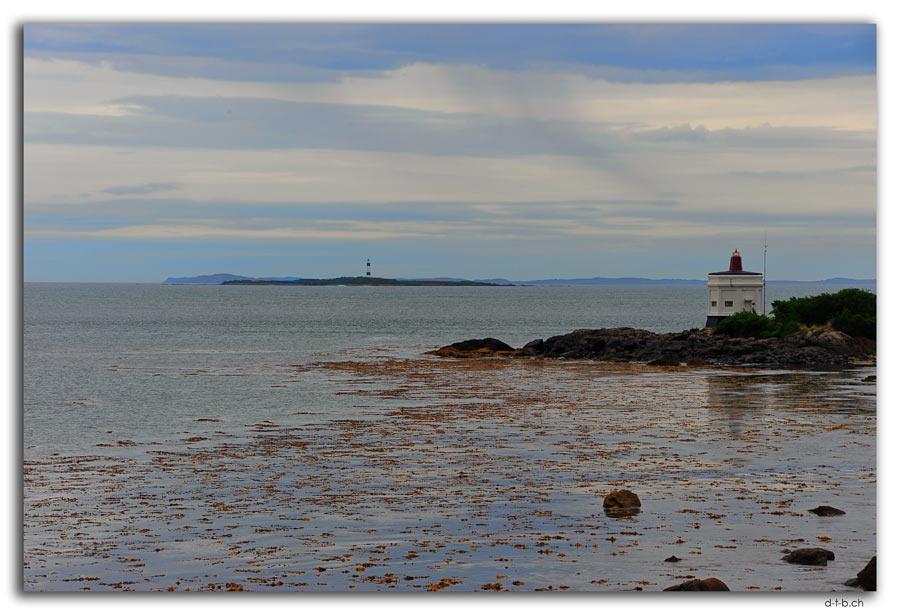 Bluff Lighthouse and Dog Island Leuchttürme