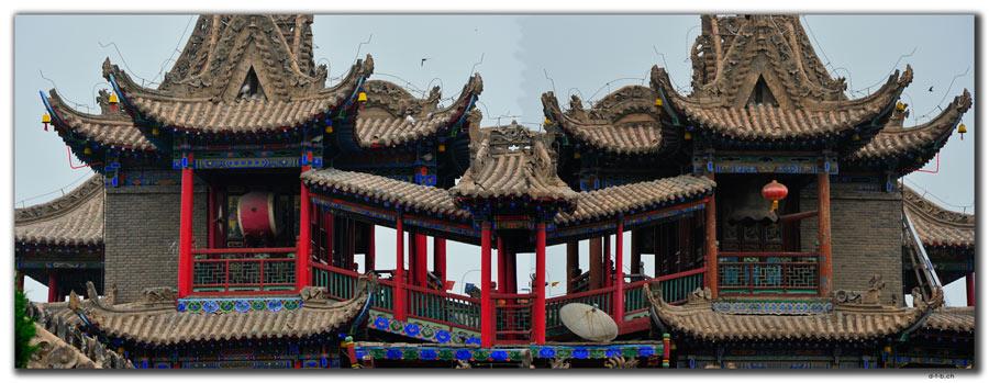 CN0200.Zhongwei.Gao Tempel,Drum&Belltower