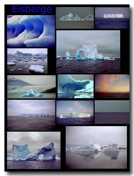 Eisberge / Icebergs