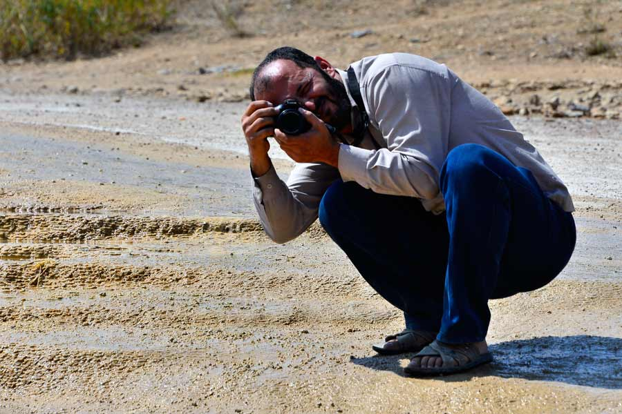Yaser the photographer