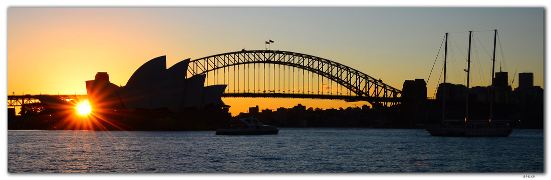 AU1632.Sydney.Opera House & Harbour Bridge