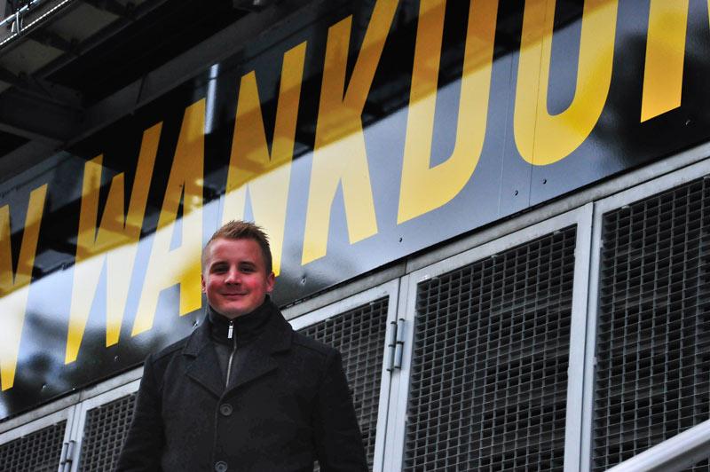 Sefan bei Wankdorf-Stadium