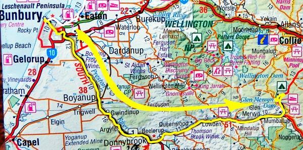 Tag 359: Bunbury - Glen Mervyn Dam