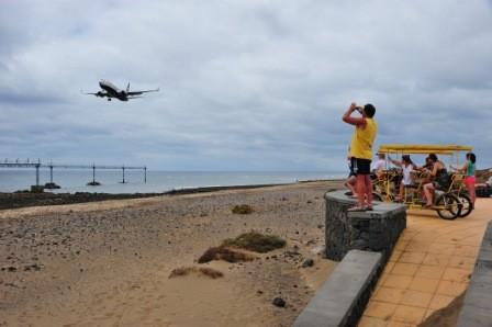 Spanien,Lanzarote, Planespotting