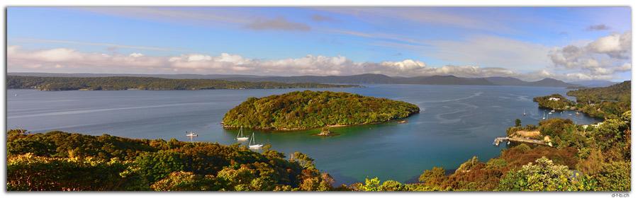 NZ0844.Stewart Island.Oban.View from Observation Rock