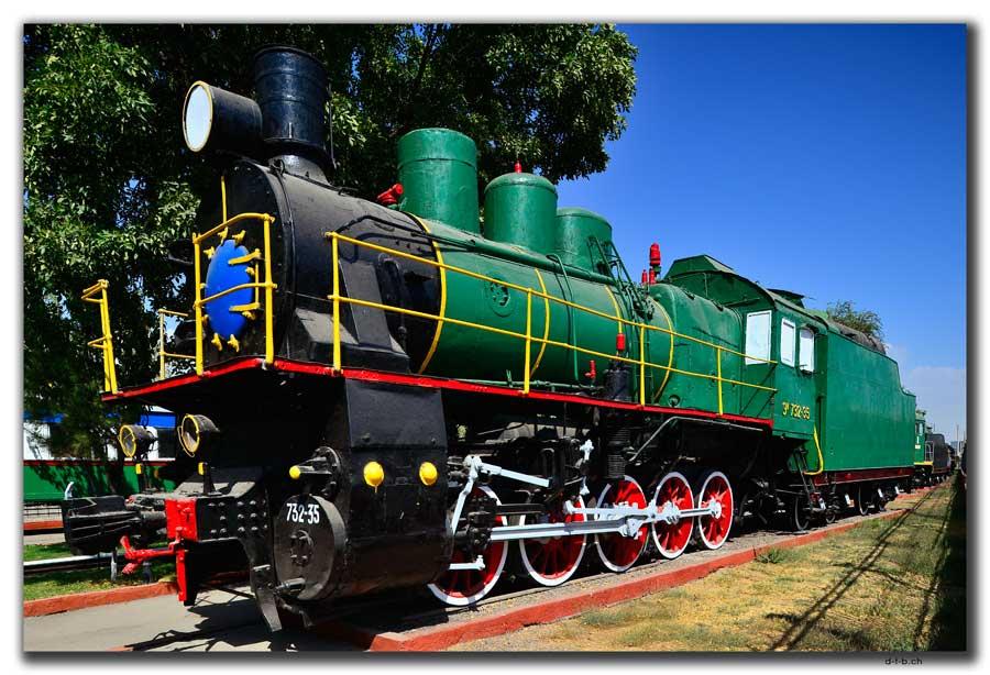 Tashkent.Railway Museum