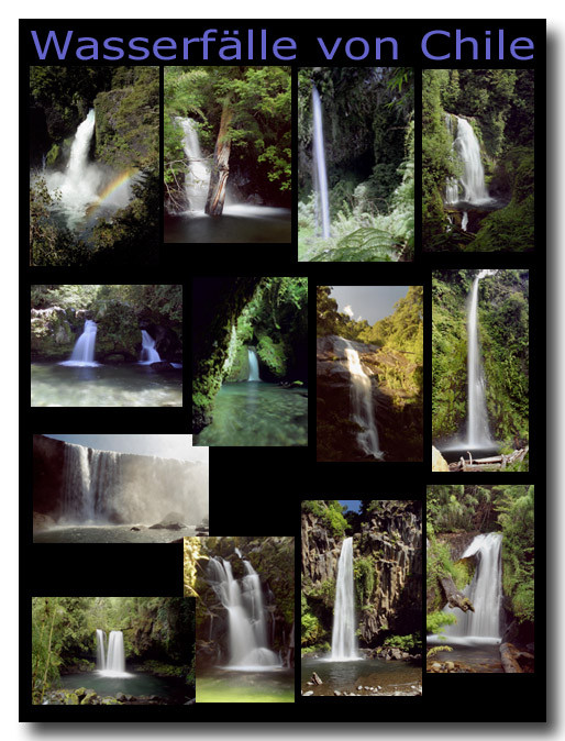 Wasserfälle in Chile / Waterfalls of Chile