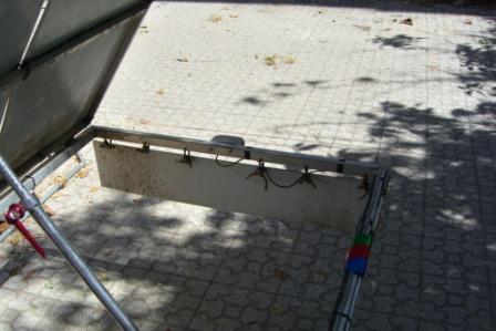 IR: Solatrike in Mashhad, Trailer ausschlachten