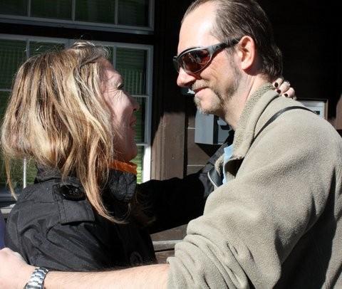 Silvia Schüpfer + David (Foto: Clair Southwell)
