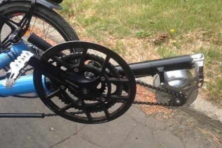 Solatrike Version2: Zweiter Motor als Tretunterstützung (Photo:Honza Galla)