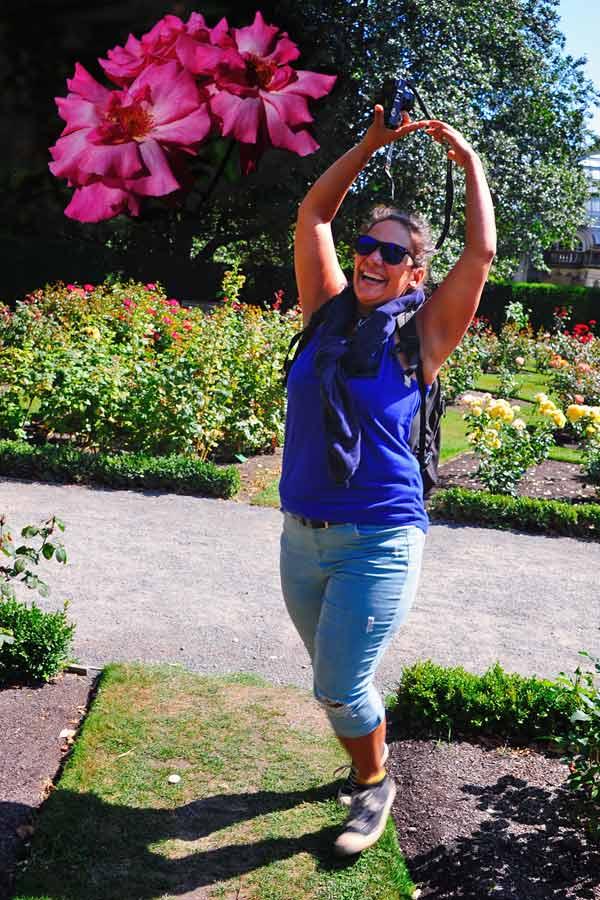 Tanita at Rose Garden