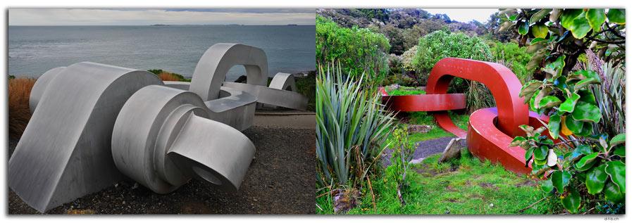 Bluff & Stewart Island Chain Link sculpture