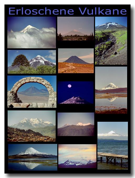 Erloschene Vulkane / Extinct volcanos
