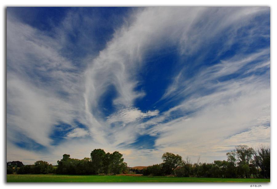 Wolken im Merino Gebiet