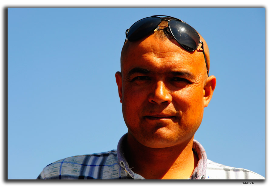 Portrait of an Uighur