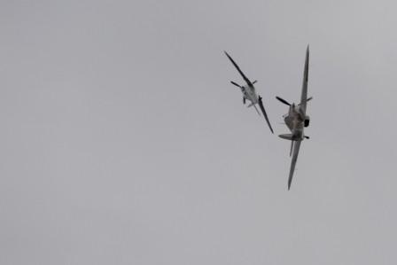 L113 Hawker Hurricane + Hispano Buchon