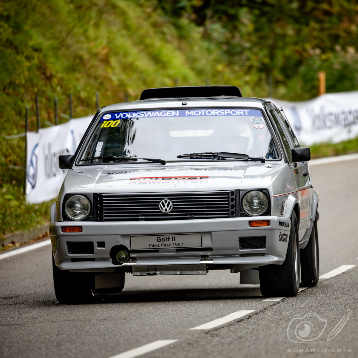 Rossfeldrennen 2018 - VW Golf II Pikes Peak
