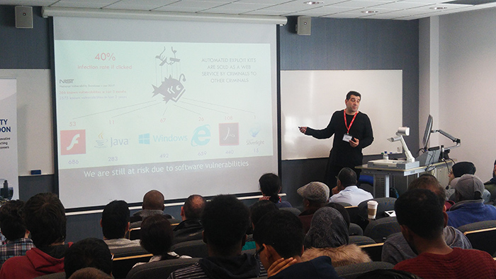 Lecture at the University of West London