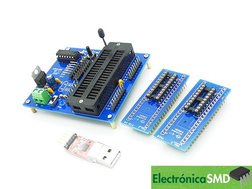 placa programadora quemadora picaxe guatemala, picaxe guatemala, programadora, programadora picaxe, electronica, electronico, microcontrolador