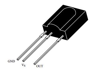 Receptor infrarrojo PCM - TSOP1738