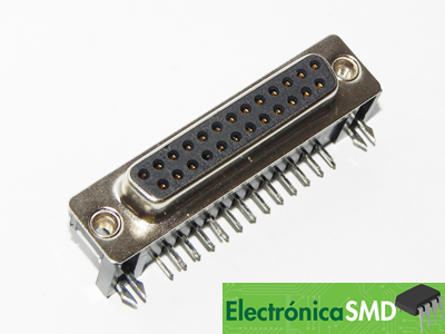 Conectores Guatemala Electrónica DB25 Hembra Macho ElectronicaSMD, db25 puerto paralelo guatemala, electronica, electronico