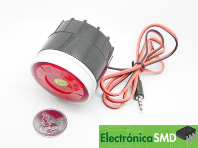 mini sirena guatemala, electronica, electronico