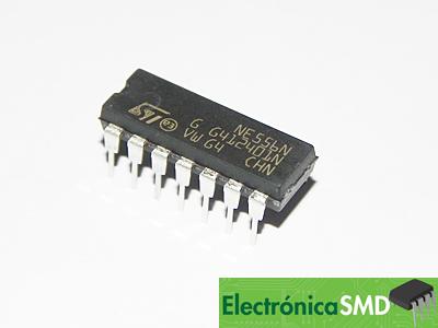 556 Temporizador Doble Cicuitos Integrados CI Electronica Electronico Guatemala ElectronicaSMD, ne556 guatemala, guatemala, electronica