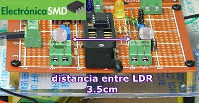 Circuito Ldr : Tutorial arduino con fotoresistencia ldr