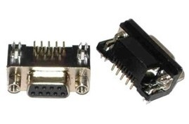 Conector DB-9 placa hembra Electronica Electronico Guatemala ElectronicaSMD