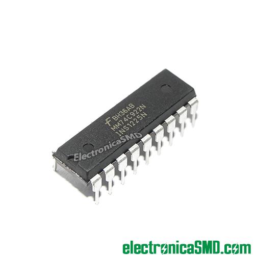 74c922 guatemala, keypad teclado 4x3 4x4 guate, guatemala, electronica, electronico, circuito integrado