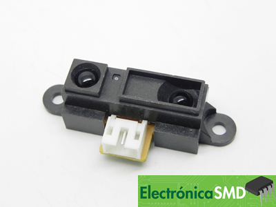 sensor infrarrojo, infrarrojo, sensor guatemala, electronica, electronico, guate, sharp gp2y, analogo