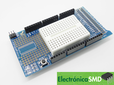 shield prototipo arduino mega guatemala