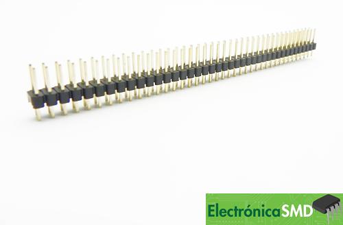 header, tira pines macho guatemala, electronica, electronico, header 40x2 2x40, header guatemala, pcb, circuito, conexion
