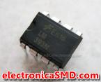 LM393N Comparador Diferencial Doble Cicuitos Integrados CI Electronica Electronico Guatemala ElectronicaSMD