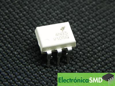 4N35, Optoacoplador, Electronica, Electronico, Guatemala, optotransistor