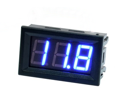 voltimetro digital, voltimetro, guatemala, electronica, electronico, voltios, volts, medidor dc