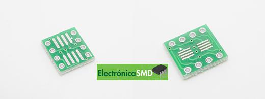 ElectronicaSMD Soic Guatemala Electronica Soic8pinesaDip. soic a dip, smd, circuito intregado