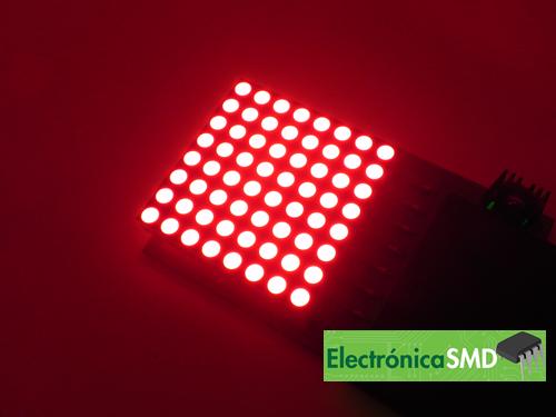 matriz led guatemala, matriz 8x8, led, guatemala, electronica, electronico, matriz, matricial, pantalla