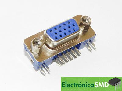 Conectores Guatemala Electronica DB15 Hembra VGA, db15 vga guatemala, electronica, electronico