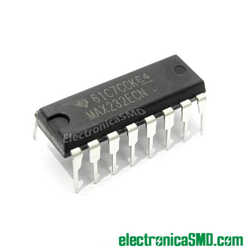 max232 guatemala, max232ecp, interfaz rs232 a ttl, rs232 circuito integrado, electronica, electronico