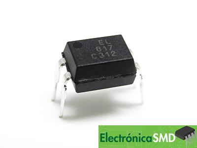 JC817, pc817, Optoacoplador, Electronica, Electronico, Guatemala, optotransistor